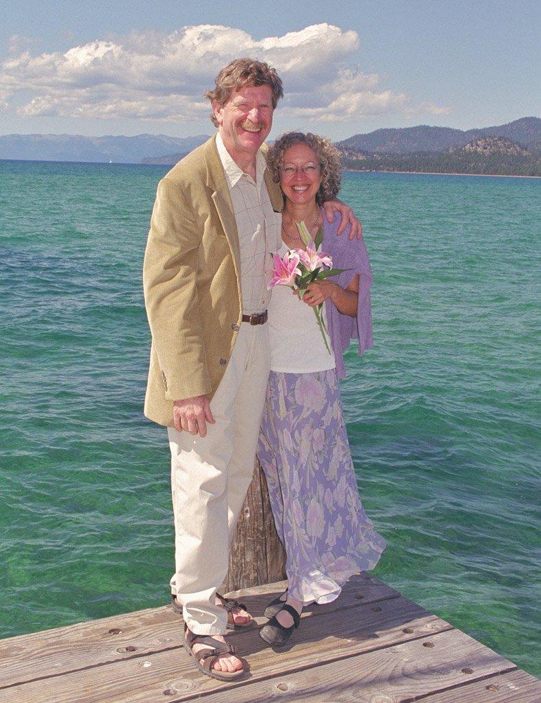 Dia do Casamento de Ruth com Stephen Altschuler